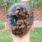 Çocuk Saçı Örgü Modelleri 48