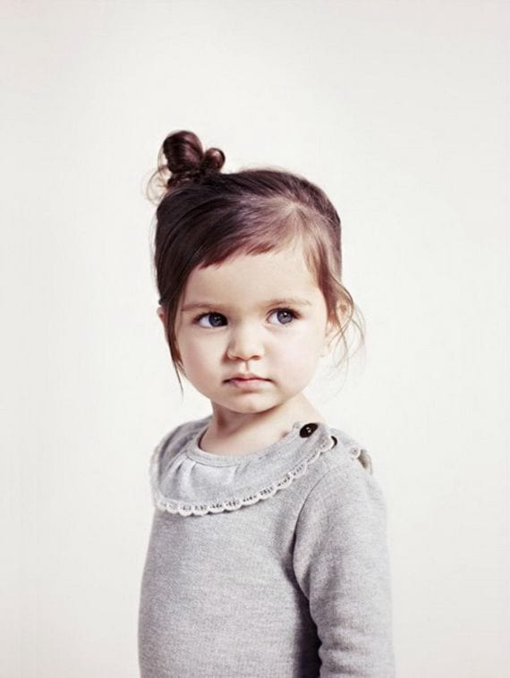 Çocuk Saçı Örgü Modelleri 4