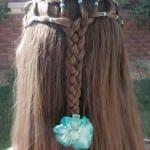 Çocuk Saçı Örgü Modelleri 50