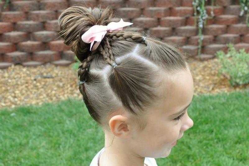 Çocuk Saçı Örgü Modelleri 51