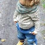 Çocuk Saçı Örgü Modelleri 55