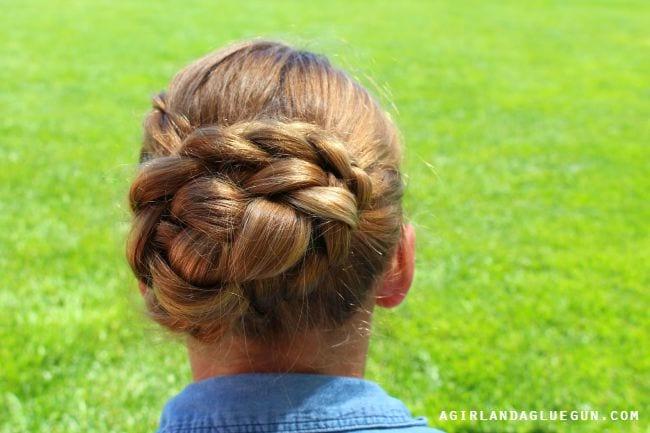 Çocuk Saçı Örgü Modelleri 56