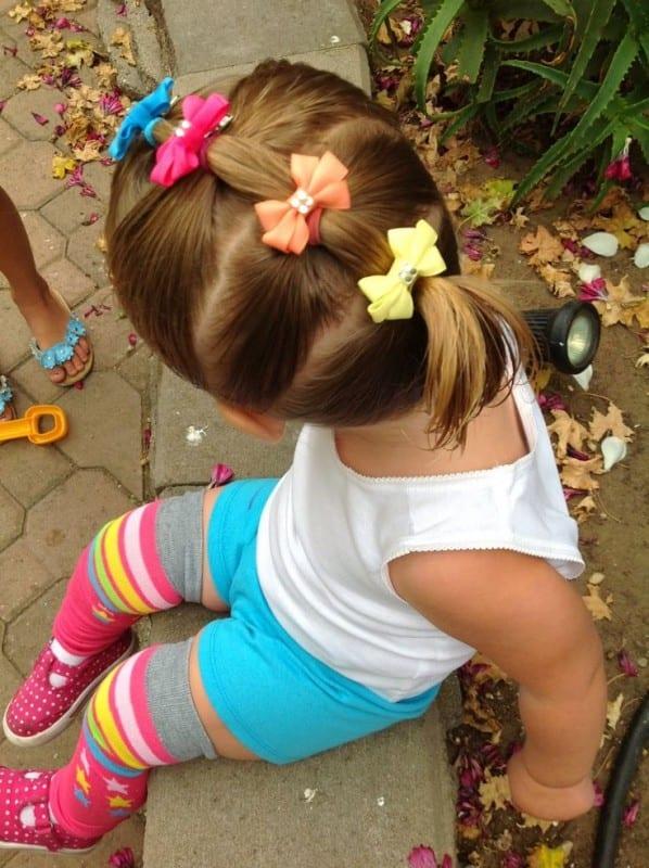 Çocuk Saçı Örgü Modelleri 5
