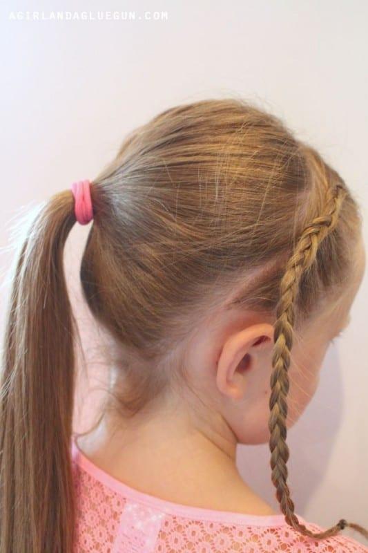 Çocuk Saçı Örgü Modelleri 60