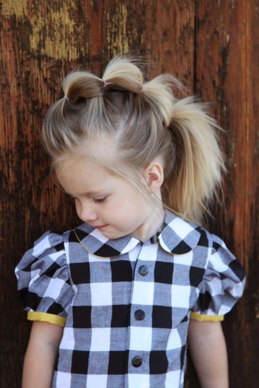 Çocuk Saçı Örgü Modelleri 61