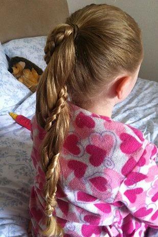 Çocuk Saçı Örgü Modelleri 65