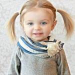 Çocuk Saçı Örgü Modelleri 6