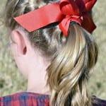 Çocuk Saçı Örgü Modelleri 7