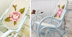 DIY, Sallanır Sandalye Yenileme Nasıl Yapılır ?