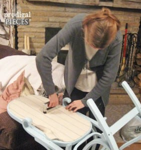 DIY, Sallanır Sandalye Yenileme Nasıl Yapılır ? 8
