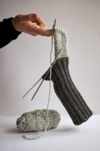 Evde Örme Çorap Nasıl Yapılır ? 1