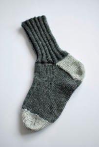 Evde Örme Çorap Nasıl Yapılır ? 6