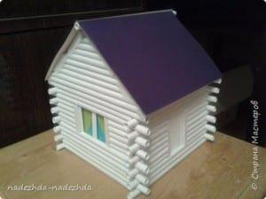 Kağıttan Ev Yapımı 9