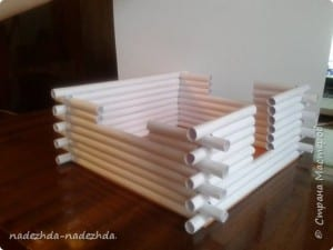 Kağıttan Ev Yapımı 4
