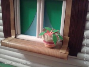 Kağıttan Ev Yapımı 6