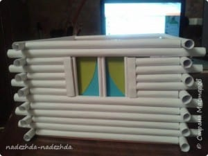 Kağıttan Ev Yapımı 7