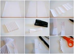 Kağıttan Kar Tanesi Yapılışı