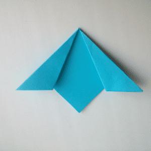 Kağıttan Origami Çiçek Yapılışı 10