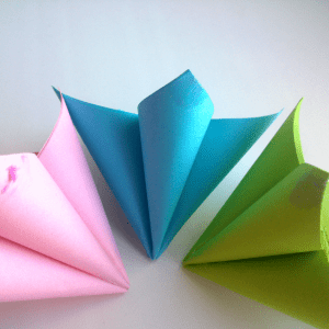 Kağıttan Origami Çiçek Yapılışı 11