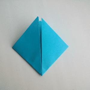 Kağıttan Origami Çiçek Yapılışı 1