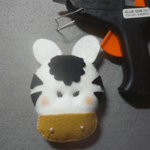Keçe Zebra Yapılışı 13