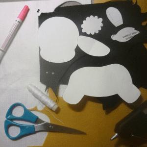Keçe Zebra Yapılışı 14