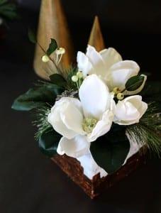 Mermer Görünümlü Çiçek Aranjman Yapılışı 3