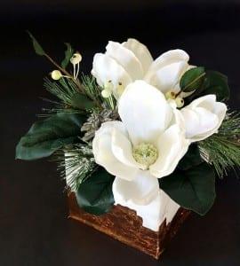 Mermer Görünümlü Çiçek Aranjman Yapılışı 4