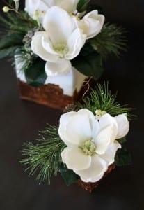 Mermer Görünümlü Çiçek Aranjman Yapılışı 5