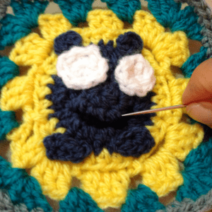 Minion Bebek Battaniyesi Yapılışı 4