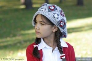 Motifli Örgü Şapka Yapılışı