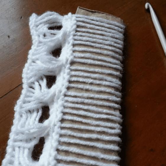 Oklava İşi Bebek Yeleği Yapımı