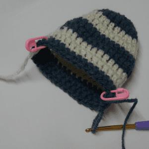 Örgü Bebek Çorabı Yapılışı 9