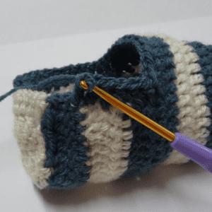 Örgü Bebek Çorabı Yapılışı 2