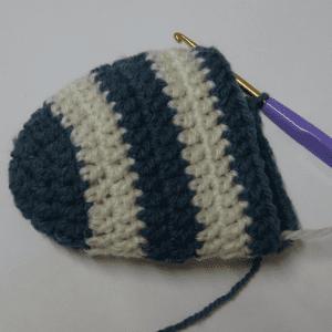 Örgü Bebek Çorabı Yapılışı 5