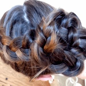 Örgü Topuz Saç Modeli Yapılışı 1