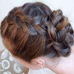 Örgü Topuz Saç Modeli Yapılışı 7