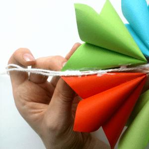 Origami Çiçek Yapılışı 1