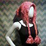 Sıcak Tutan Tığ İşi Örgü Şapka Modeli 1