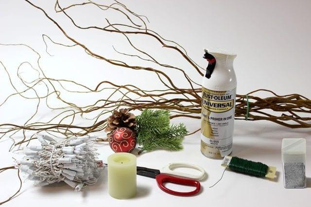 Söğüt Dallarından Dekoratif Süs Yapılışı Mimuucom