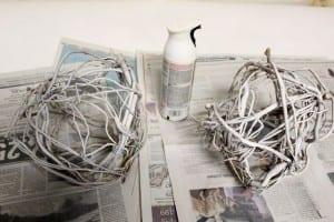Söğüt Dallarından Dekoratif Süs Yapılışı 6