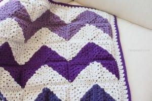 Video Anlatımlı İki Renkli Bebek Battaniyesi Yapılışı