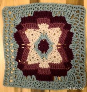 Vintage Kare Örgü Bebek Battaniyesi Yapılışı