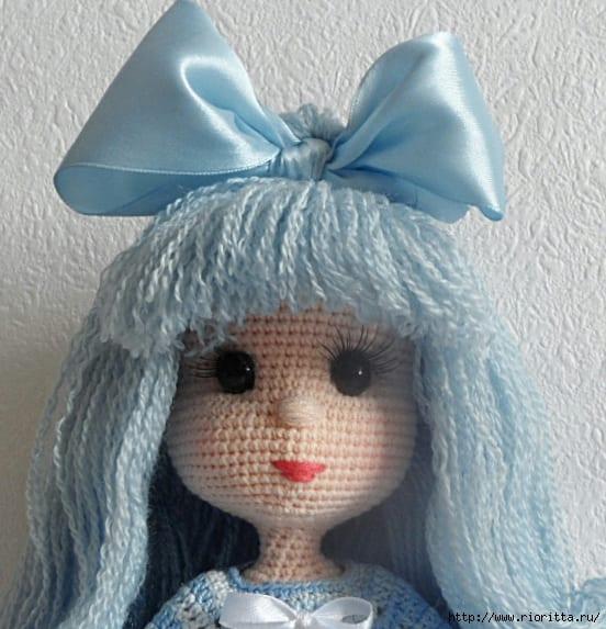 Amigurumi Mini Hanım Kız Bebek Yapımı - Örgü Modelleri | 573x552