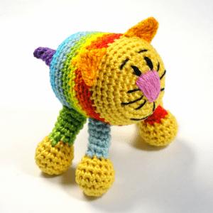 Amigurumi Kedi Çıngırak Yapılışı 11