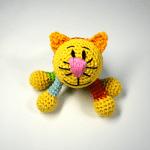 Amigurumi Kedi Çıngırak Yapılışı 15