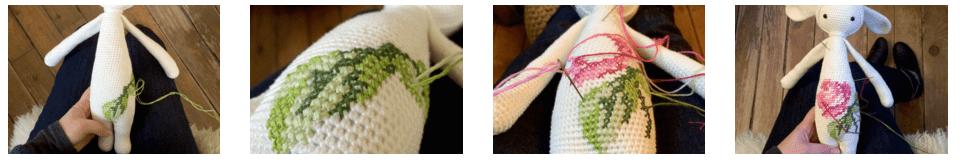 KIRA the kangaroo made by Peta G. / crochet pattern by lalylala ... | 166x960