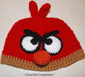 Angry Birds Örgü Bere Yapılışı 1