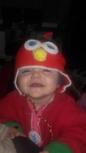 Angry Birds Örgü Şapka Yapılışı