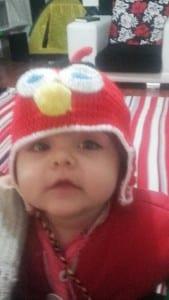 Angry Birds Örgü Şapka Yapılışı 1